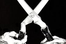 Black Flag Flyer, art by Raymond Pettibon