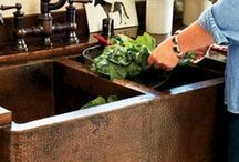 Homestead Kitchens - Rustic, Eclectic / Kitchen design, lighting, sinks, and decor ideas for homesteads