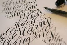 Calligraphy, Fonts & word arts
