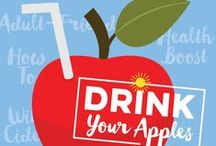 Beverage Recipes / Cheers! Prost! Salute! Say it best with apples.