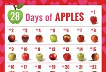 28 Days of Apples / February is American Heart Month, so all month long we'll be sharing reasons and tips for incorporating heart-healthy apples into your daily life. #28DaysofApples