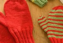 Knitted Gloves and Mittens
