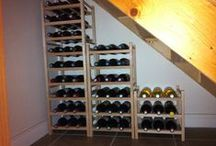 wine store / cupboard under stairs