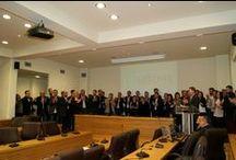 """7-4-2013 Παρουσίαση των υποψηφίων του συνδυασμού """"ΕΝΟΤΗΤΑ για το Δήμο Κοζάνης"""""""