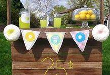 Lemonade stands / Building a Lemonade stand