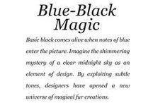 Blue-Black Magic / Saga Furs lookbook A/W 2014-15 / by Saga Furs