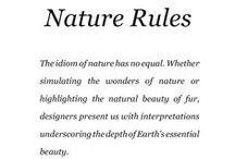 Nature Rules / Saga Furs lookbook A/W 2014-15 / by Saga Furs