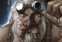 RPG Dwarf art / Uncategorized dwarf art for character inspiration in roleplaying games. Fantasy genre. . Please see my other boards for different and more specific character types.