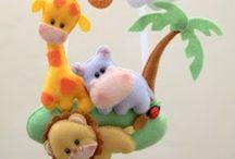 Maternidade / Referências de decoração, artesanato e coisas fofas para os bebês!