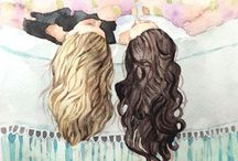 FRIENDSHIP / Pics & quotes about you and your bestie/Bæ/Bestfriend!