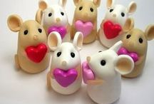 Polymer Clay / Cute ideas * Inspiration * DIYs
