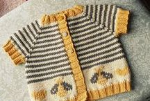 Tiny Knits / Baby jumpers / cardigans / hats etc