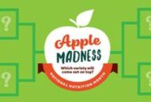 Apple Madness 2016 / This March, which is also National Nutrition Month, U.S. Apple Association is going crazy for apples! From first-year rookies to all-time league leaders, we're searching for America's favorite apple - and we need your help!  Vote for your favorites at www.USApple.org/AppleMadness for a chance to name the National Chomp-ion - plus win prizes!