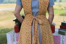 Aprons / Apron patterns, design inspiration and harvest basket apron tutorials & patterns.