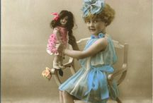 Vintage photos of children and their toys / by Carol Eaton Walsh