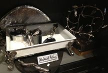 Michael Aram / Bread baskets, casserole dishes, platters, photo frames, pitchers, trivets, granite cheese boards and more.... functional works of art by Michael Aram.  Makes an heirloom gift for special occasions such as weddings, anniversaries... or enjoy as a statement in your kitchen.