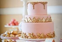 Scrumptious Wedding Cakes / Yummy, beautifully created wedding cakes.  Great ideas for your wedding.