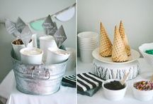 i   c   e      c   r   e   a   m      p   a   r   t   y / Party Printables and gorgeous ideas for the perfect Ice Cream Party