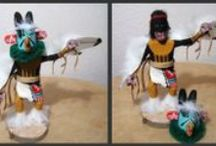 """Kachinas / Just the mere word """"Kachina"""" conjures up vivid images of masked figures dancing and chanting on ancient mesas."""