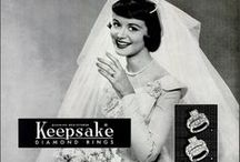 Vintage Wedding Ephemera / Wonderful vintage newspaper and magazine adverts, covers and articles on everything to do with weddings.