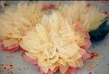Diy fabric accessories / Flower