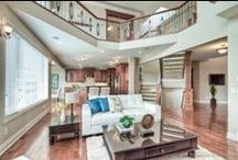 My listings / Fantastic estate home located on a ridge with panoramic views of ravine and pond.