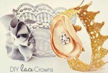Fasinators hats clips / Diy hair accessories