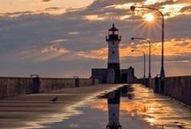 North Shore Lighthouses / Enjoy beautiful lighthouses and ship warnings from Minnesota's famed North Shore.