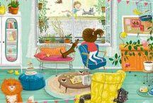Eefje Kuijl / Illustration / Illustrations for children books