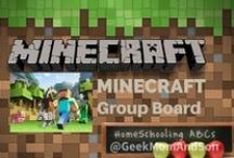 ~Minecraft Group Board~ / Let's make this the best Group Board on Pinterest for all things MINECRAFT! Pin as much as you want; quality & epic finds please. Want to pin here too? Please follow this board first, then go to our first board (Message Board) & leave a message there. Happy MINECRAFT Pinning!☺