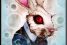 wonderland wonders / Artwork by Lukas EWJ Curnow based on Lewis Carroll's Alice's Adventures In Wonderland