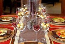 Campana sobre Campana / Decoraciones navideñas para su mesa.