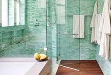 BATHROOMS / Gorgeous Bathroom design and decor. Be inspired by beautiful bathrooms of all styles.