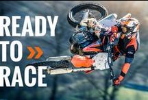 KTM / KTM board with new bikes, old bikes, enduro bikes, MX bikes & everything you need to be #READYTORACE