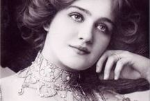 Lily Elsie (1886-1962) / Lily Elsie was a popular English actress and singer during the Edwardian era. Admired for her beauty and charm on stage, Elsie became one of the most photographed women of the age.