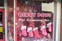 Dog Grooming Holiday Promotions & Ideas / Need ideas for promoting or decorating your grooming business during the holidays? Or how about gifts to give your grooming clients? Here is a collection of ideas & inspiration curated from around the web.