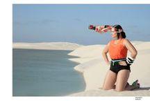 Paradise - S/S15 - Lençóis Maranhenses / Campanha de moda plus size Primavera Verão 2015 fotografada nos Lençóis Maranhenses. Direção criativa: Tom Escrimin