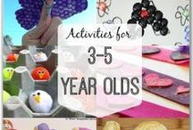 Activities For Preschoolers / Let's keep our preschoolers challenged and engaged with wonderful fun ideas to support their learning.