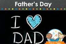 FATHER'S DAY / Father's Day crafts, cards, activities, and gifts for kids in preschool, pre-k, or kindergarten classrooms to make. Visit me at www.pre-kpages.com for more inspiration for early education! / by Vanessa @pre-kpages.com