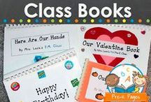 CLASS BOOKS / Class book ideas to make in your preschool, pre-k, or kindergarten classroom. Create motivation to read and develop early literacy skills with class books! Visit me at www.pre-kpages.com for more inspiration for early education! / by Vanessa @pre-kpages.com