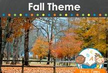 FALL THEME IDEAS / Fall learning activities, crafts, ideas, printables and resources for young children in your preschool, pre-k, or kindergarten classroom. Apples, leaves, pumpkins and more for autumn! Visit me at www.pre-kpages.com for more inspiration for early education! / by Vanessa @pre-kpages.com
