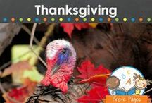 THANKSGIVING THEME / Thanksgiving teaching and learning activities, crafts, ideas, printables and resources for young children in your preschool, pre-k, or kindergarten classroom. Turkeys, pilgrims, Indians, feast, food, party ideas and more! Visit me at www.pre-kpages.com for more inspiration for early education! / by Vanessa @pre-kpages.com