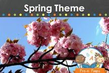 SPRING THEME / Spring theme learning activities, crafts, ideas, printables and resources for young children in your preschool, pre-k, or kindergarten classroom. Flowers, plants, seeds, gardens, vegetables and more! Ideas to make learning about the spring season fun! Visit me at www.pre-kpages.com for more inspiration for early education! / by Vanessa @pre-kpages.com