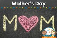 MOTHER'S DAY / Mother's Day cards, crafts, and gifts young children can make for their mother on Mother's Day in preschool, pre-k, or kindergarten. Visit me at www.pre-kpages.com for more inspiration for early education! / by Vanessa @pre-kpages.com