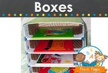 A Box is Better / Educational uses for cardboard boxes in the preschool, pre-k, or kindergarten classroom. Recycle or upcycle boxes to create fun stuff for kids, a box is better! Visit me at www.pre-kpages.com for more inspiration for early education! / by Vanessa @pre-kpages.com