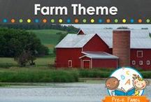 FARM THEME / Farm theme activities, crafts, printables and resources for young children in your preschool, pre-k, or kindergarten classroom. Ideas for literacy, math, science and more! Learn about cows, chickens, pigs, sheep, horses, farmers, barns and more! Visit me at www.pre-kpages.com for more inspiration for early education! / by Vanessa @pre-kpages.com