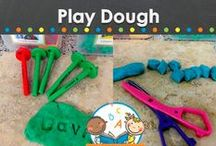 PLAY DOUGH RECIPES / Play dough recipes, learning activities, printables and ideas for your preschool, pre-k, and kindergarten classroom. Easy, homemade recipes for slime, clay, cloud dough, moon sand, clean mud, silly putty and more! Visit me at www.pre-kpages.com for more inspiration for early education! / by Vanessa @pre-kpages.com