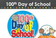 100TH DAY OF SCHOOL / 100th Day of School learning activities, ideas, printables and resources for your preschool, pre-k, or kindergarten classroom. Make learning to count to 100 fun with these activities to celebrate the 100th day of school! Visit me at www.pre-kpages.com for more inspiration for early childhood education! / by Vanessa @pre-kpages.com