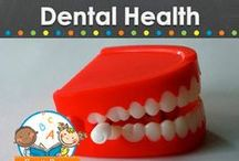 DENTAL HEALTH THEME / Dental health learning activities, crafts, ideas, printables and resources for young children in your preschool, pre-k, or kindergarten classroom. Dentist, teeth, tooth brushing and more! Visit me at www.pre-kpages.com for more inspiration for early education! / by Vanessa @pre-kpages.com