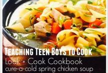 Cooking with Kids / by Marcy (Ben and Me)